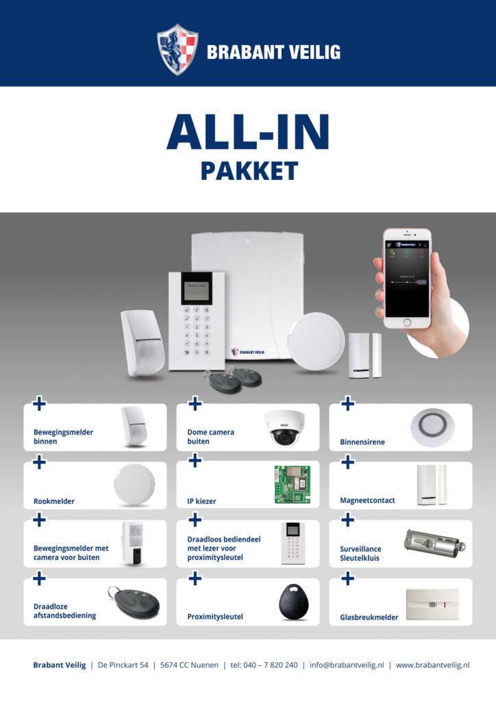 All-in Elektronische Beveiliging pakket Brabant Veilig
