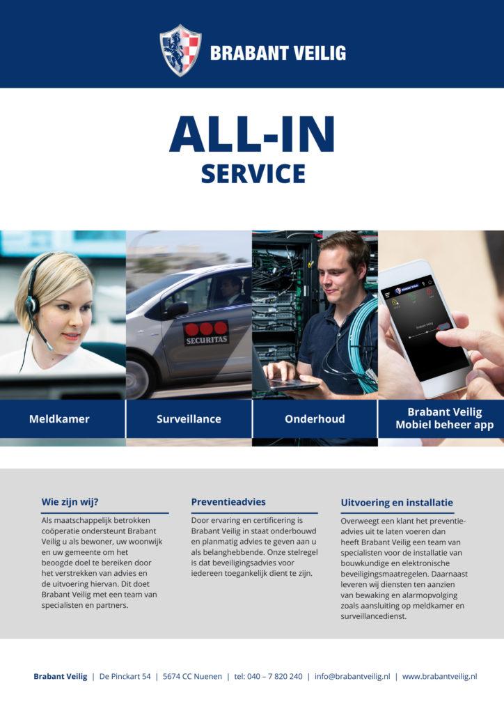 All-in Service Elektronische Beveiliging Brabant Veilig