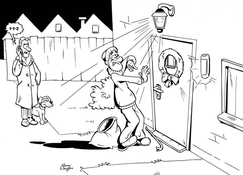 Donkere Dagen Offensief cartoon 2